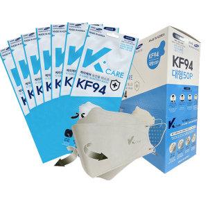 국산 KF94 마스크 대형 개별포장 100매 K-mask 콜링