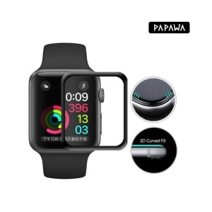 애플워치6 강화유리 풀커버 케이스 40mm 스마트 애플