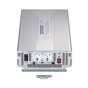 DARDA DK-1220 12V 2kW 순수정현파 인버터 태양광