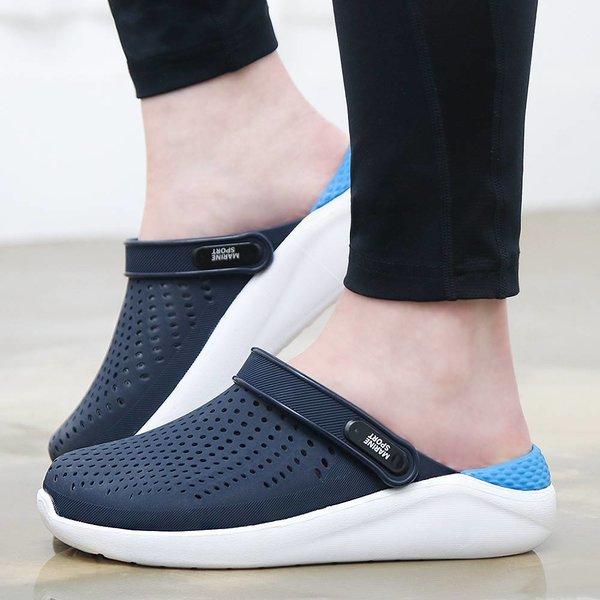 타호 남성 여성 젤리 슬리퍼 샌들 아쿠아슈즈 신발