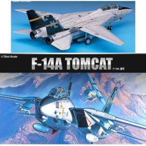 아카데미 1/72 F-14A 톰캣 프라모델 프라모델완구 장