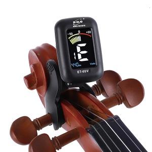 바이올린 튜너기 첼로 비올라 베이스기타 튜닝기