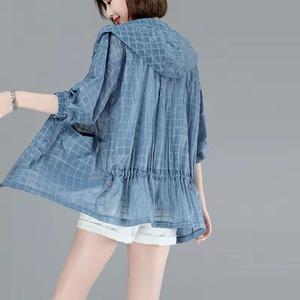 여름 신상 여성 얇은 차외선차단 의류 /카디건