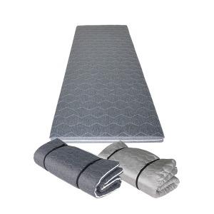 멀티싱글 1인용 접이식 바닥 수면 토퍼 매트리스