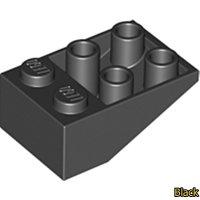 경사/Slope Brick 33 3 x 2 Inverted 3747 Black