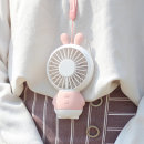 1개) 목걸이 선풍기 넥밴드 휴대용 미니 탁상용 무선
