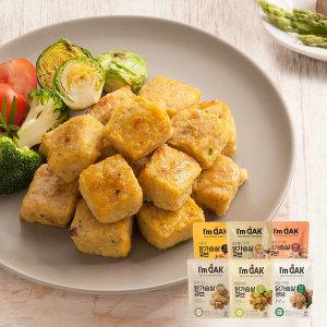 맛있고 간편한 닭가슴살 큐브 15+1 닭강정소스 증정