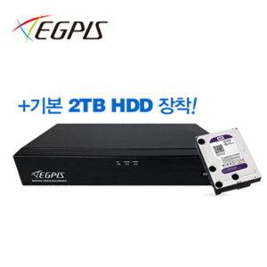 QHDVR-4008QS+2TB 400만화소녹화기 QHD8채널DVR 2TB