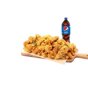 (노랑통닭) 후라이드 치킨+콜라1.25L