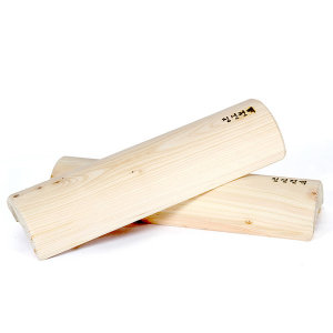 편백나무 경침(40cm) 경추베개 목침 나무목베개 디스크