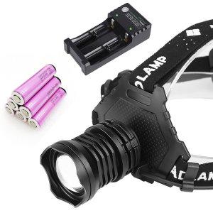 XHP70 LED 헤드랜턴 해루질 캠핑 등산 낚시용 USB충전