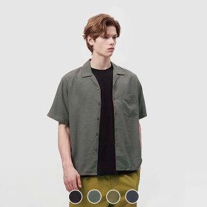지오다노   20%적립  041517 반팔 린넨/텐셀 셔츠