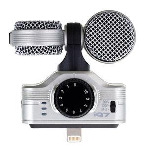 줌 iQ7 MS 스테레오 녹음용 마이크 아이패드 아이폰
