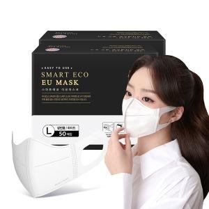 국산 새부리형 일회용 마스크 이유 성인용화이트 100매