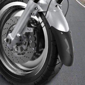 오토바이 바이크 머드가드 리어 뒷 휀다 흙받이 TypeD