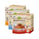 상하목장 슬로우키친파스타 크림+로제+토마토 각3팩
