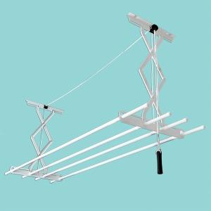 국산 베란다 천장 빨래건조대 표준형 2단 높이70cm