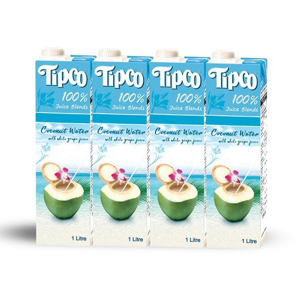 코코넛워터 1L 4팩/음료수