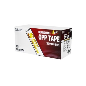 가드맨 OPP 투명 테이프 48mm x 50M / 1박스 50개입
