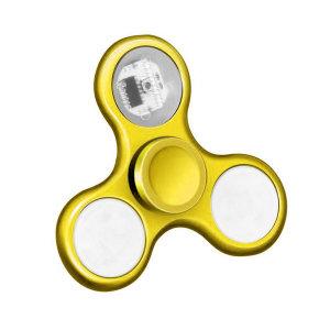 LED 모션 무빙 피젯스피너 옐로우