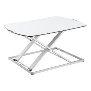 디프렌드 DWS-10W 거치형책상 화이트 좌식 입식 책상