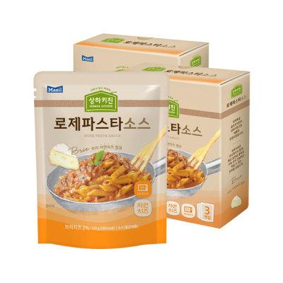 [매일유업] 상하목장 슬로우키친 로제파스타소스 3입 2박스