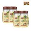 코코엘 유기농 쿠킹 코코넛오일 415ml 4병 무향무취