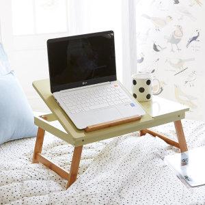 파스텔 노트북테이블 침대책상 접이식테이블 독서대