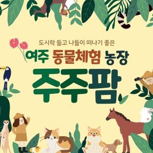 여주 주주팜 동물체험농장/여주 가볼만한곳/여주아울렛/아이와 가볼만한곳/동물체험/경기도 아이랑