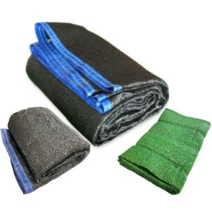 UV차광막 최고급4면봉제(효과98%/ 검정+녹색 3m x 6m)