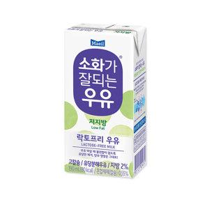 소화가잘되는우유 저지방 190ml 24팩.