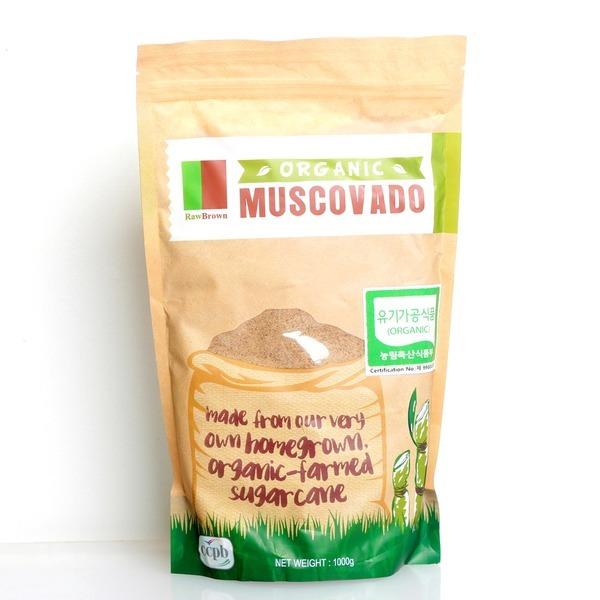 유기농 비정제사탕수수당/유기농 마스코바도 흑당1kg