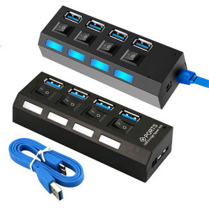 RRP USB3.0 4포트USB허브 무전원 USB허브 DJH-3100
