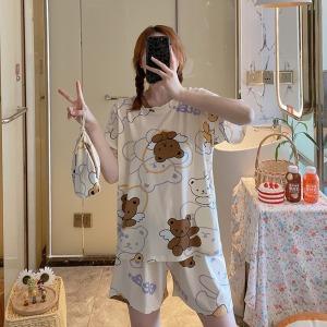 수맘 여름 신상입고 15%쿠폰 면 홈웨어 잠옷 세트