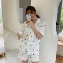 여성 잠옷 세트 홈웨어 파자마 하트 데일리 파자마