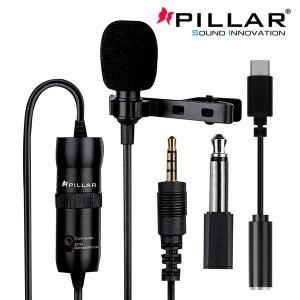 컴소닉 PILLAR CM-006 다용도 핀마이크 방송용 핸드폰