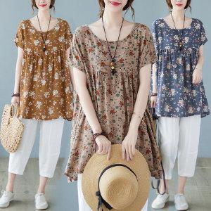 AFH21-259/여성 반팔 셔츠 블라우스 티셔츠