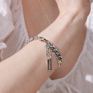 (헤이(Hei))  Hei  BTS RM 착용  modern metal chain bracelet
