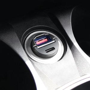 차량용 고속 듀얼포트 미니 시거잭 충전기 PD 3.0