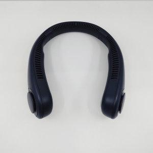 넥밴드 선풍기 목걸이 휴대용 대용량 4000mAh /네이비