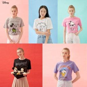 21SS 디즈니 여성 아트웍 티셔츠5종
