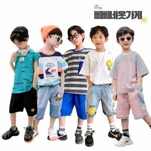 여름신상/주니어의류/남아상하세트/초등학생옷/아동복