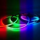 12V COB 슬림면발광 LED바 RGB컬러 10cm당 연결발송