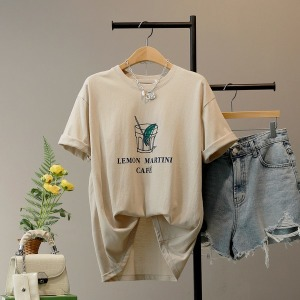모노시크/15%/티셔츠/신상/데일리/루즈핏/빅사이즈/