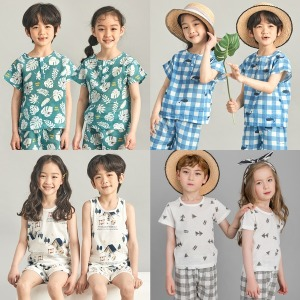 봄/여름 내의/유아/아동/주니어/내복/실내복/잠옷