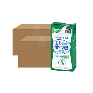 맛있는우유GT 고소한 락토프리 180ml 24입 2박스