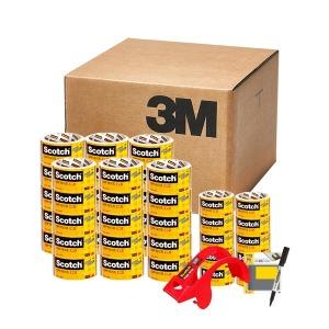 스카치 포장용 박스 테이프 P50 X 30개+ 10개 + 증정