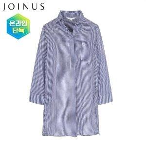 JOINUS 면혼방 루즈핏 7부 셔츠-IJ8U4WRB710_P301898