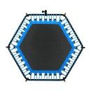 바투정품 점핑알파고-블루 6각 트램폴린 성인다이어트