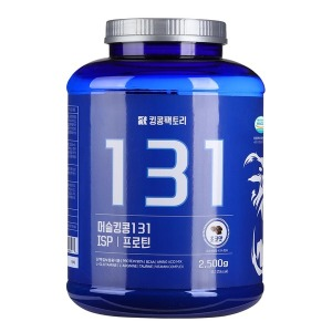 머슬킹콩 131 ISP 단백질 헬스 보충제 근육 프로틴